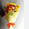 季節のお花たっぷりおまかせ長い形の花束